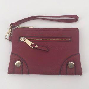 Mix No. 6 Red Clutch Wristlet Wallet